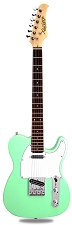 XV-830 Surf Green Solid Alder Body Rosewood F/B Humbucker Kwikplug Equipped