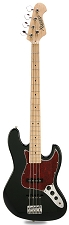 JB Bass Black Alder Body Maple Neck Tortoiseshell Maple Fingerboard