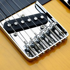 Vintage Style 6 Saddle Bridge, Fits Tele®