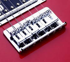 Chrome Hardtail Bridge, Fits Teles® and Strats®