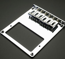 Chrome Humbucker Bridge, Fits Tele® Guitars