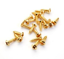 Full Bag of GOLD Pickguard Screws- 20 pcs