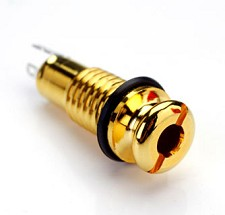 Gold Guitar Endpin jack- Perfect for Acoustic Guitars