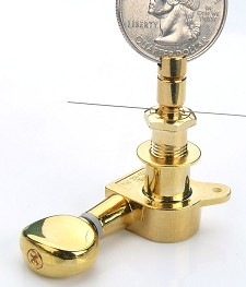 Gotoh Style GOLD Locking Tuners- True mechanical lock