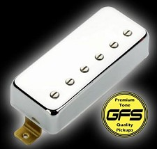 KP - Little Crunchy Mini Humbuckers - Chrome Case  - Kwikplug™ Ready