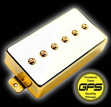 Mean 90 Gold Case- Alnico P90- Fat and Strong Output!