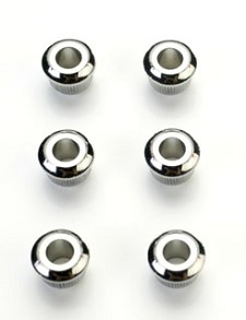 Nickel Vintage Tuner Conversion Bushings