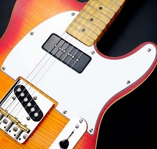 P90 Soapbar neck Pickup White 3 Ply, Fits Tele®- CUSTOM MADE for us!