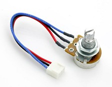 SPOT 50 Pair of 50K Single Potentiometers- Plug in Assembly