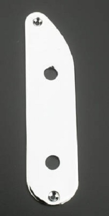 Bass Control Plate , Fits Tele® - Chrome