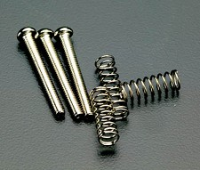 Screw and Spring set - Fits Telecaster® - 3 of each