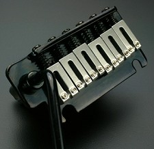 2 Point Hardened Steel BLACK tremolo system - Fits USA Strat®