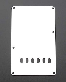 White 3 Ply trem Cover Plate with Holes