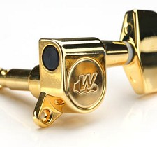Wilkinson EZ-LOK locking Tuners Gold 6 inline for Fender® Headstocks