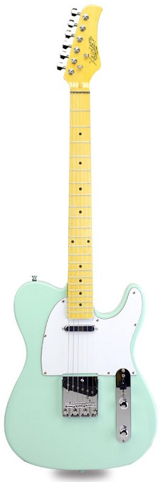 Lowered Price! XV-820 Surf Green Maple Fingerboard