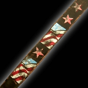 NEW! Slickstraps USA Flags HAND DISTRESSED