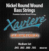 Xaviere Nickel Round Wound BASS Strings Medium Set