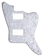 XGP 3 Ply MOP Offset Pickguard- 2 Humbucker pickups