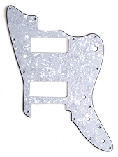 XGP 3 Ply MOP Trem Offset Pickguard- Fits Strat® Trems - 2 P90 Pickups