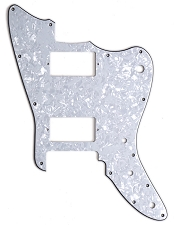 XGP 3 Ply MOP Trem Offset Pickguard- Fits Strat® Trems - 2 Humbuckers