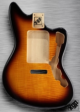 XGP Professional Offset Body Flamed Maple Fits Strat® Tremolo Vintage Sunburst