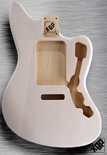 XGP Professional Offset Body Fits Strat® Tremolo Mary Kaye White