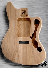 XGP Professional Offset Body Strat® Tremolo Unfinished Swamp Ash
