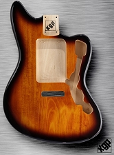 XGP Professional Offset Body Fits Strat® Tremolo Vintage Sunburst
