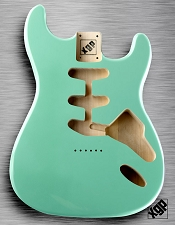 XGP Professional Strat Body Surf Green Hardtail!