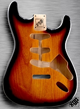 XGP Professional Solid Alder Single-Cutaway Body Vintage Sunburst