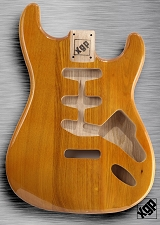 XGP Professional Strat® Body Honey Gloss Solid Swamp Ash