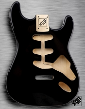 XGP Professional Double Cutaway Body Black