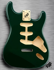 XGP Professional Strat Body British Racing Green