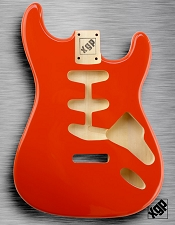 XGP Professional Strat Body Capri Orange