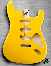 XGP Professional Strat® Body Monaco Yellow