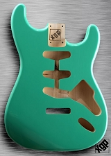 XGP Professional Double Cutaway Body Seafoam Green