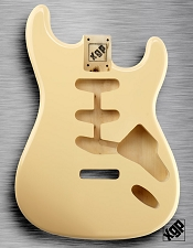 XGP Professional Strat Body Vintage Cream