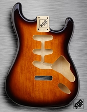 XGP Professional Double Cutaway Body Vintage Sunburst