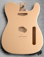XGP Professional Tele Body Honey Blonde Solid Poplar
