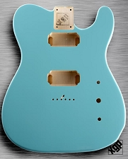 XGP Professional Single-Cutaway Body 2 Humbuckers Daphne Blue