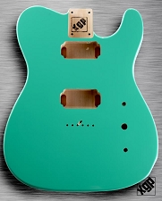 XGP Professional Single-Cutaway Body 2 Humbuckers Seafoam Green