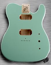 XGP Professional Single-Cutaway Body 2 Humbucker Surf Green