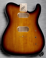 XGP Professional Single-Cutaway Body 2 Humbuckers Vintage Sunburst