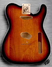 XGP Professional Single-Cutaway Body Solid USA Alder Vintage Sunburst