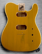 XGP Professional Tele USA Swamp Ash Body 2 Humbuckers 1952 Butterscotch