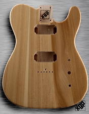XGP Professional Tele USA Swamp Ash Body 2 Humbuckers Clear Gloss
