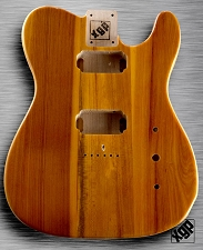 XGP Professional Tele USA Swamp Ash Body 2 Humbuckers Dark Natural Ash