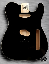XGP Professional Double Bound Single-Cutaway Body Black