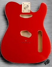 XGP Professional Double Bound Tele Body Fiesta Red