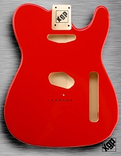 XGP Professional Tele Body Fiesta Red